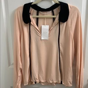Brand New not used Zara Pink Blouse